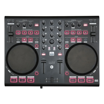 DAP-Audio CORE Kontrol D1 2 Deck Midi Controller with audio interface